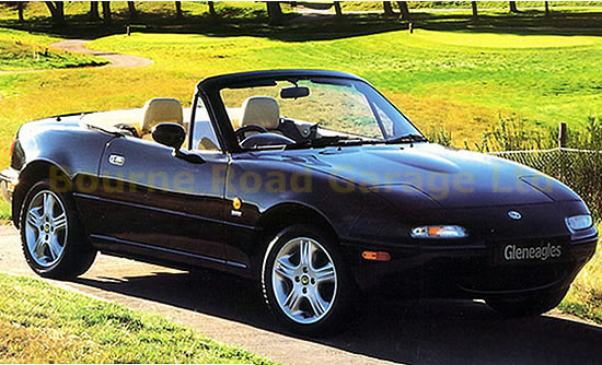 Mazda Mx 5 Gleneagles